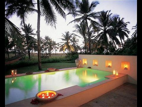 Goa hotel goa resort holiday packages 2 nights 3 days garden pool villa packages at taj for Resorts in goa with private swimming pool